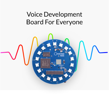 Voice specialized development board - MATRIX VOICE